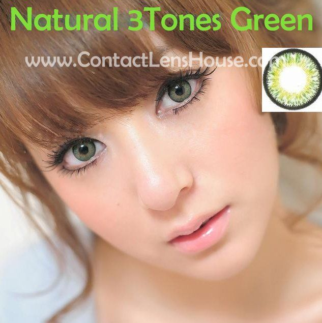 natural 3tones series the dolly eye color circle lenses
