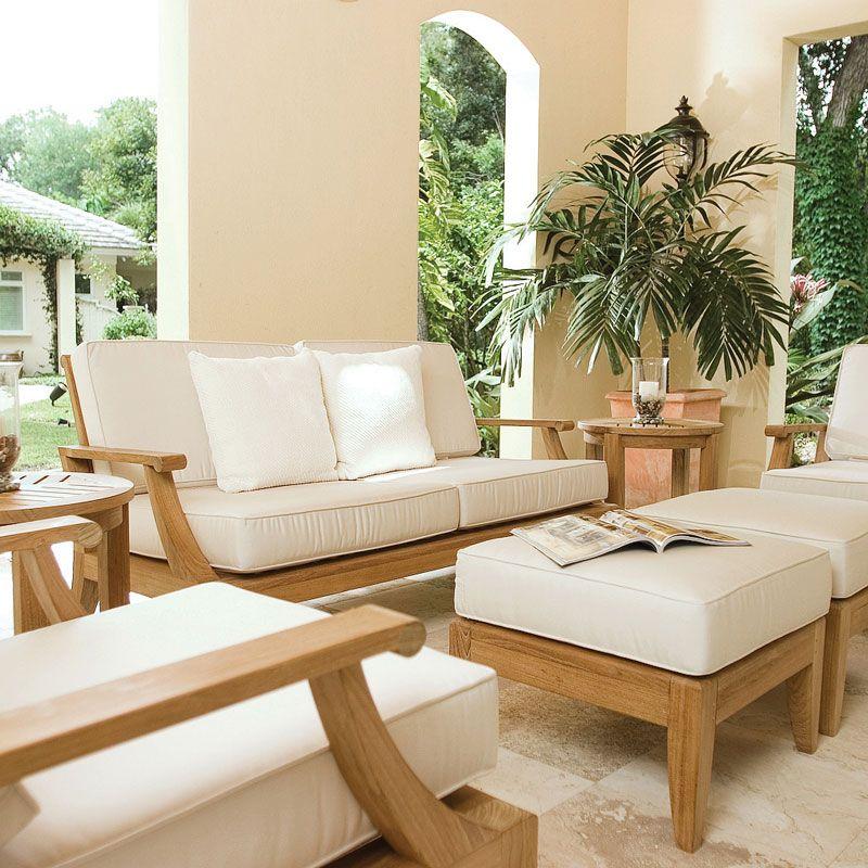 Laguna Teak Sofa and Lounge Chair Set | Teak furniture, Westminster ...