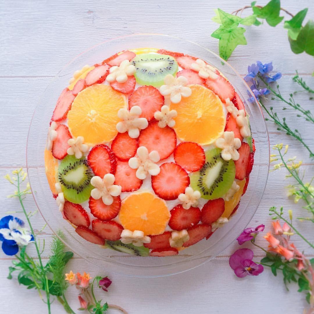 手作り ひな祭り ケーキ