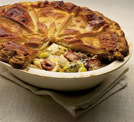 Chicken leek pie recipe leek pie pie and pie recipes forumfinder Images