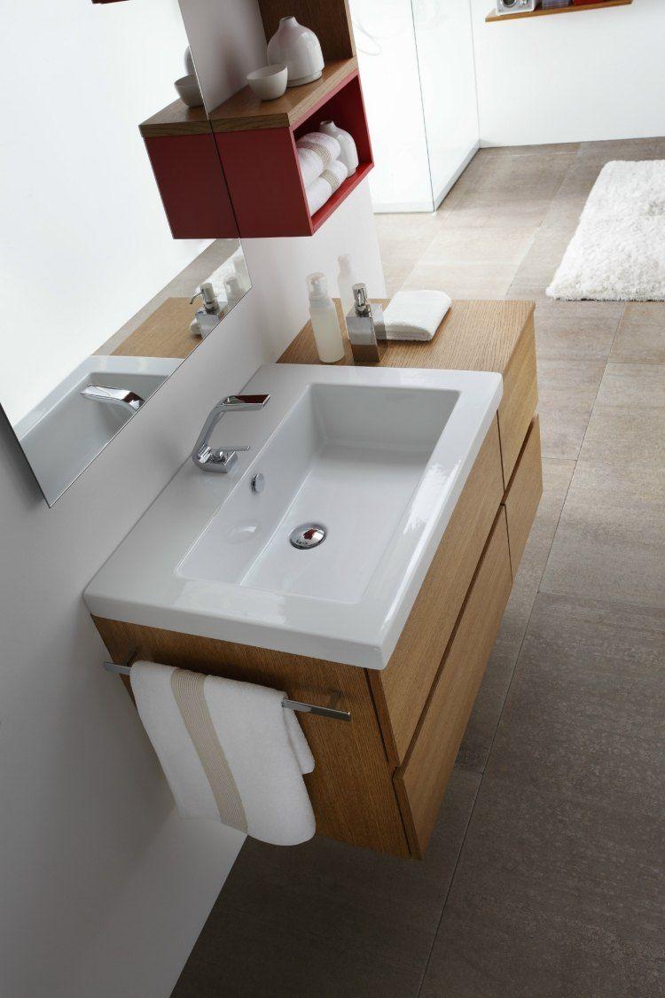 Badmobel Aus Holz 50 Moderne Sets Furs Bad Waschtisch Holz Badezimmer Badezimmer Renovieren Badezimmer Dekor