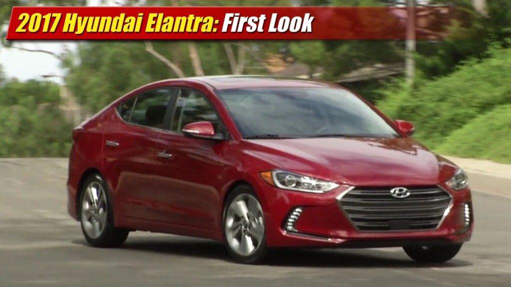 First Look 2017 Hyundai Elantra Auto news, La auto show