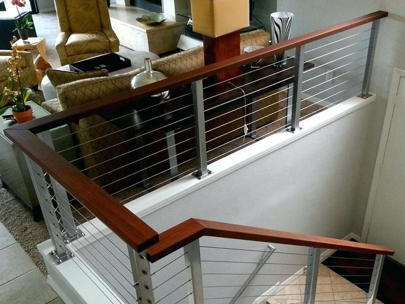 Metal Stair Railing Home Depot Handrail Modern Spectacular Hand