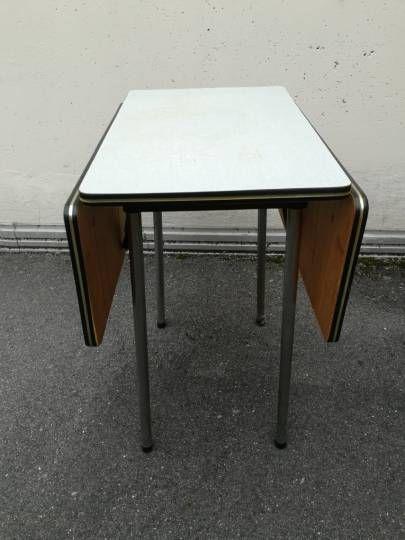 Pliante En FormicaLe Table Pliante Vintage Nmnw08