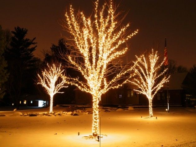 The Best 40 Outdoor Christmas Lighting Ideas That Will Leave You