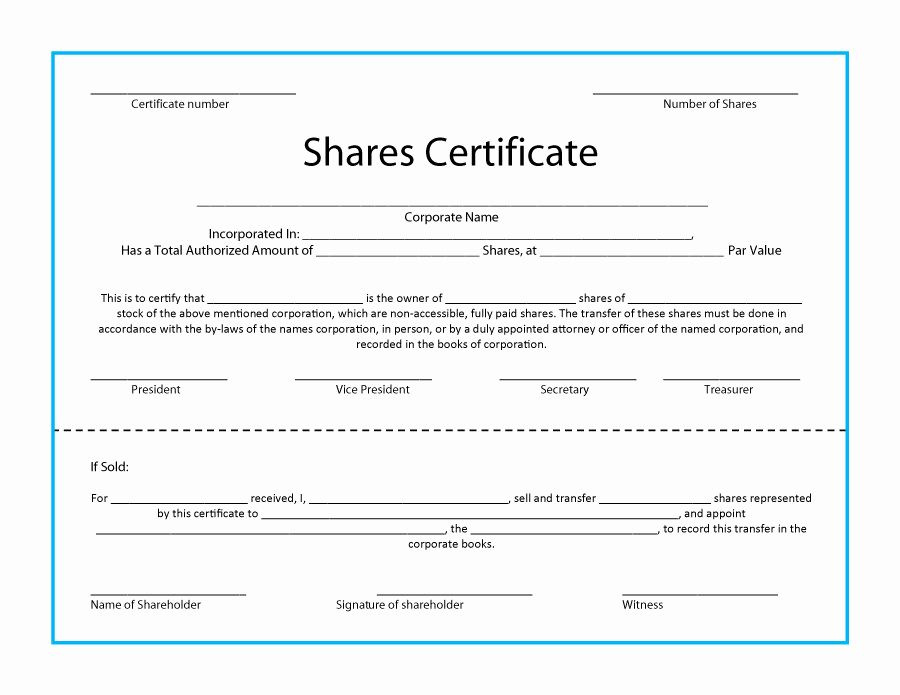 Download Stock Certificate Template Beautiful 41 Free Stock Certificate Templates Word Pdf Stock Certificates Certificate Templates Free Certificate Templates