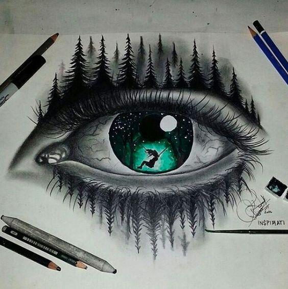 Ole El Dibujo Arte Para Ojos Dibujos Abstractos Produccion Artistica