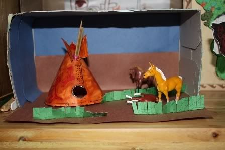 How To Help Kids Build Shoe Box Diorama Book Report
