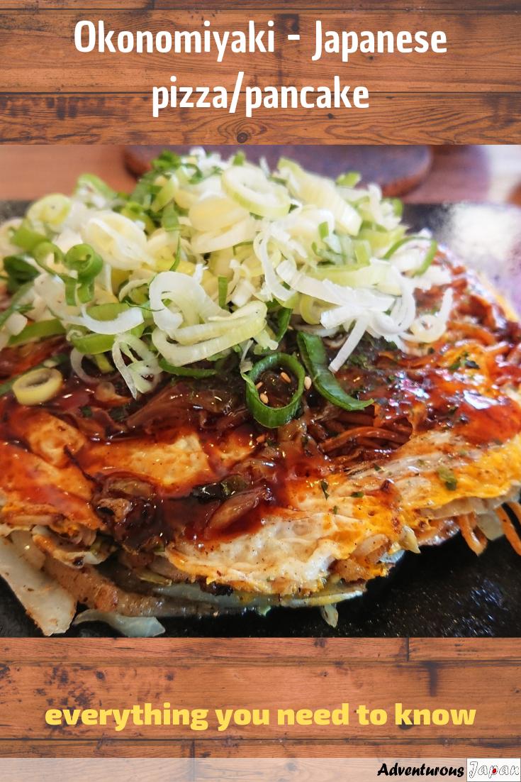 Okonomiyaki Japan S Famous Pizza Pancake Adventurous Japan Food Guide Travel Food Foodie Travel