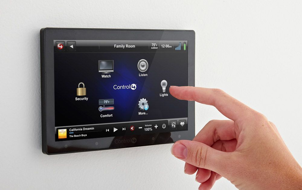 Control4 Brings Low Priced Touchscreen Home Automation For