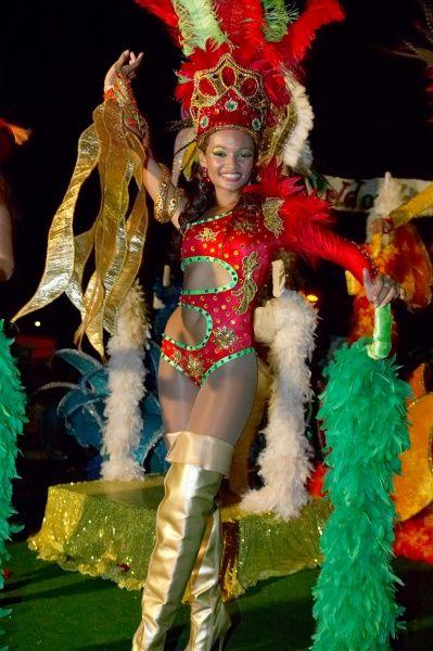 caribbean carnaval kleding