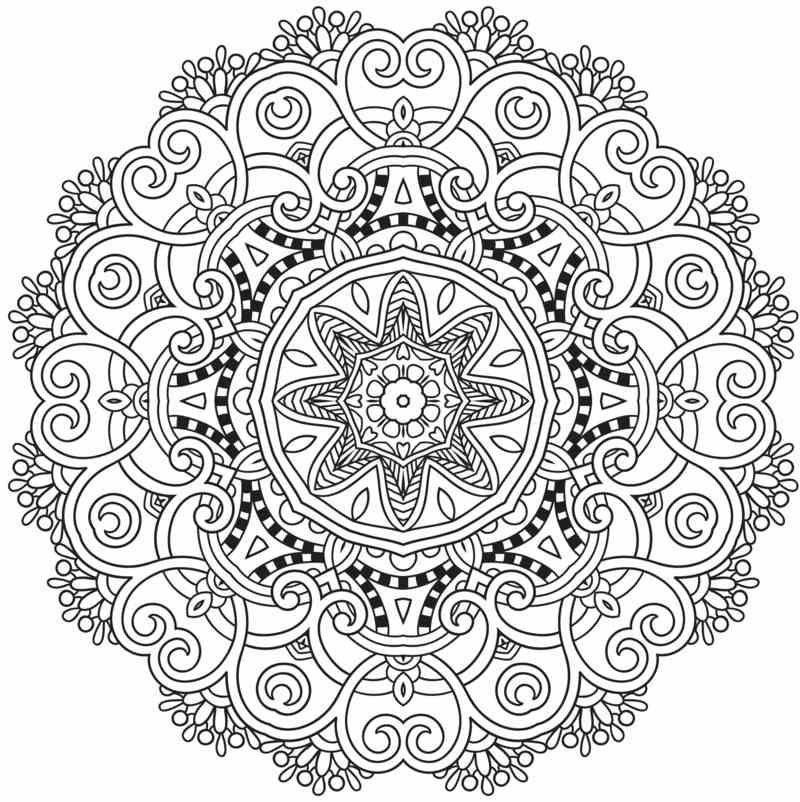Aufwändiges Mandala Design (Diy Ornaments Paint) | Diy Ornaments ...