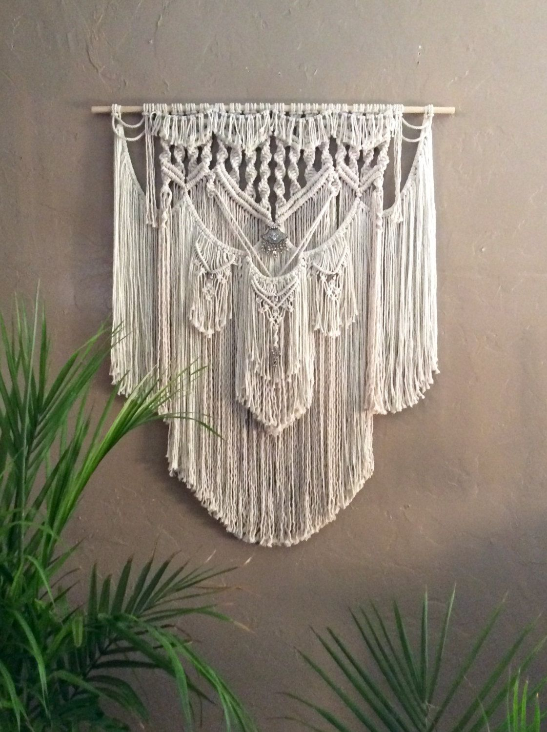 Large Macrame Wall Hanging Wall Tapestry Wall Hanging