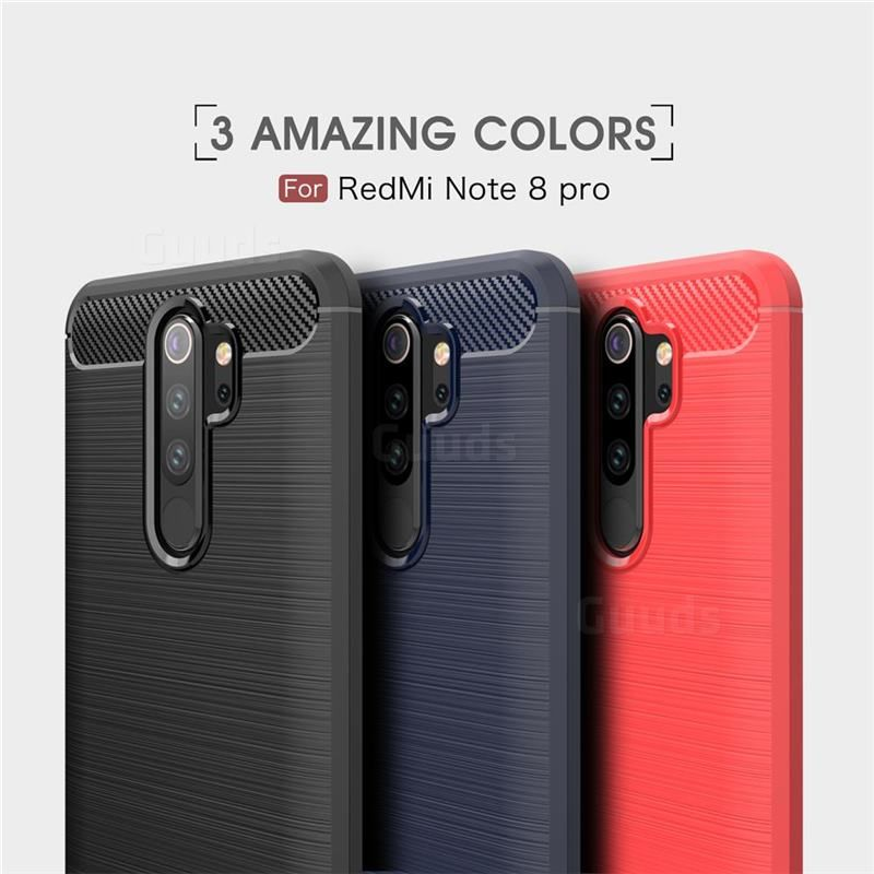Luxury Carbon Fiber Brushed Wire Drawing Silicone Tpu Back Cover For Mi Xiaomi Redmi Note 8 Pro Black Guuds Com Wholesale Dropshipping Guuds Redminote8 Red In 2020