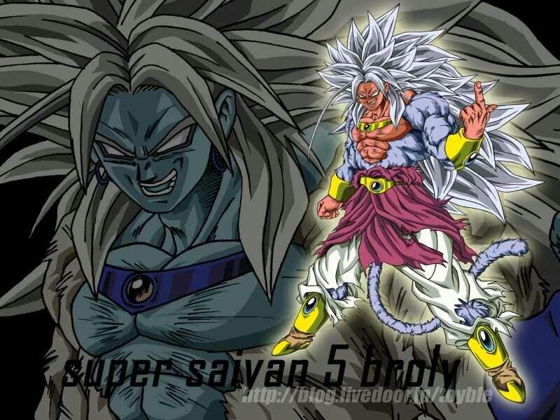 Ssj5 Broly Anime Dragon Ball Dragon Ball Image Dragon Ball