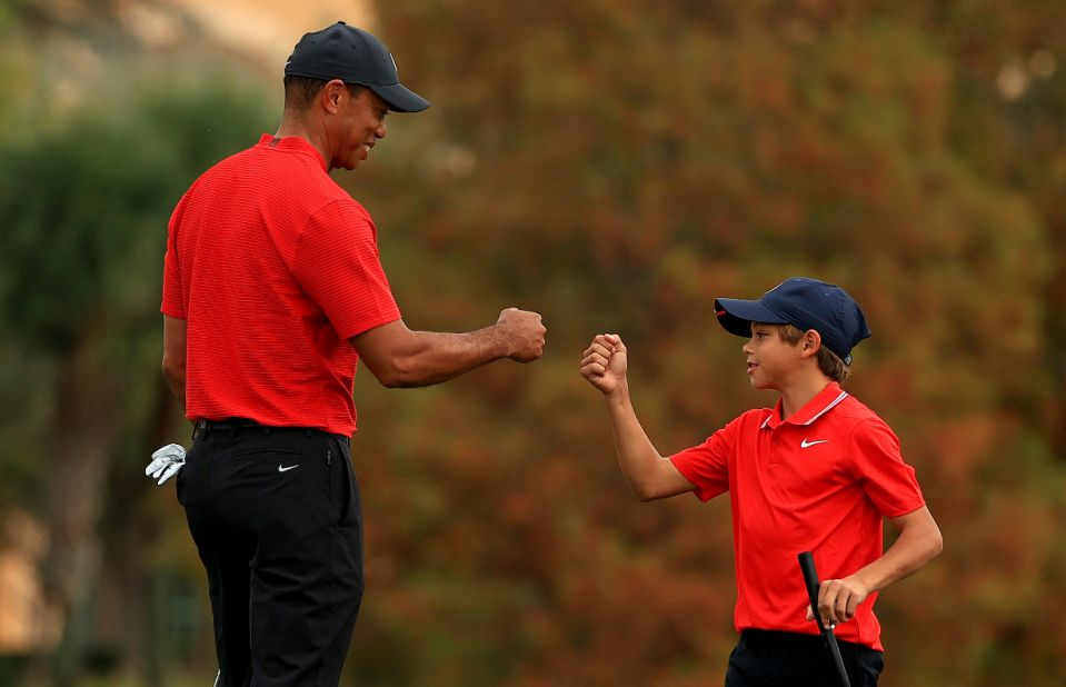 Justin Thomas And Tiger Woods Son - TATOERA