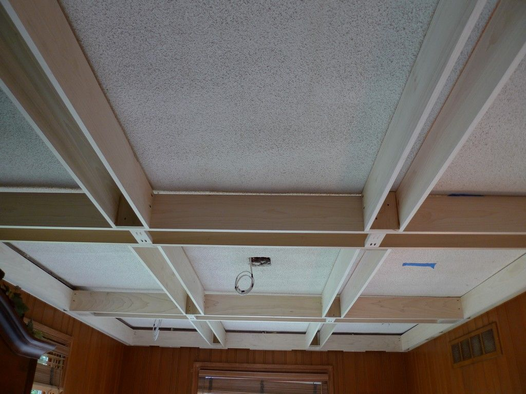 Coffered ceiling kits cost
