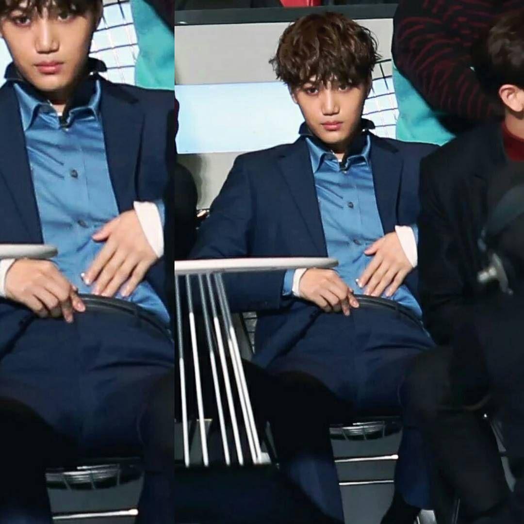 """THIS KKAMJONG IS SERIOUSLY TESTING MY PATIENCE JFC #kai #jongin #exo"""