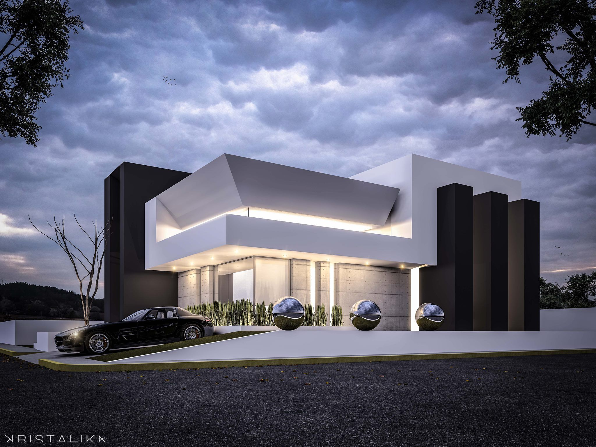 FOLDED HOUSE | Kristalika Arquitecture and interior design ...