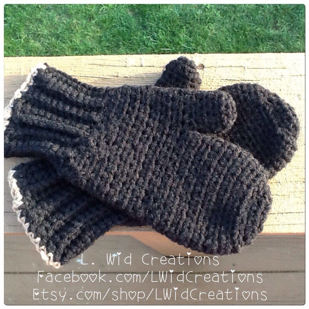 A personal favorite from my Etsy shop https://www.etsy.com/listing/262984860/crochet-womens-mittens-free-shipping