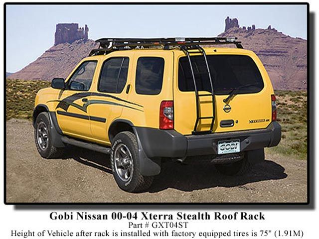 2000 2004 Xterra Roof Rack Nissan Roof Racks Shrockworks Fibreglass Roof Roof Architecture Roof Cost