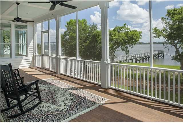 This newly constructed, deepwater property offers breathtaking views of the Wando River and the tranquil Lowcountry marshlands. View full listing here: http://searchrealestate.co/1418-smythe-st/charleston/sc/29492/1413015/res