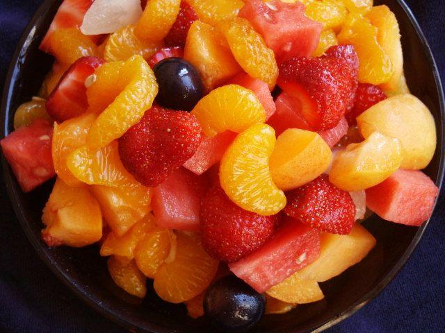 Sunny Fruit Salad
