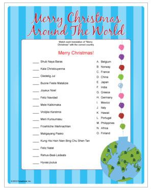 photograph regarding Merry Christmas in Different Languages Printable named Pin upon Childrens Ministry - Introduction Pageant 2014