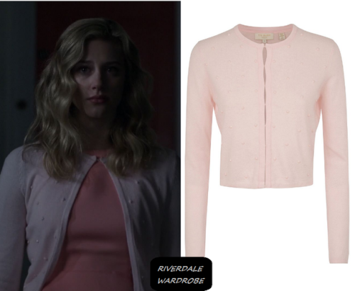 Betty's Pink Cardigan