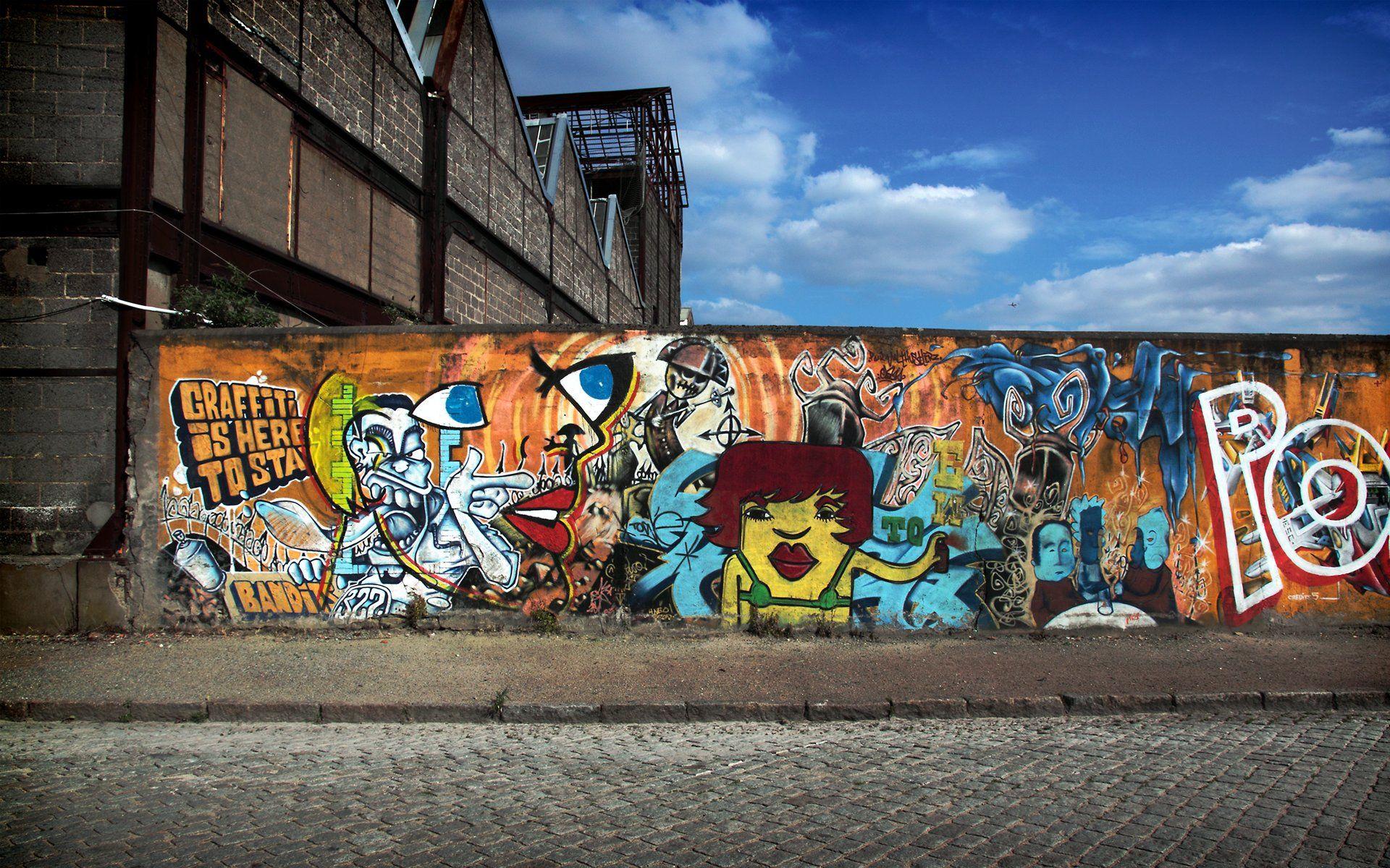 Graffiti wall dublin - Hd Graffiti Wallpapers Wallpaper