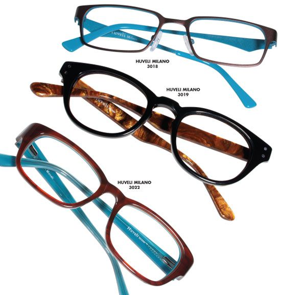 Teka Eyewear introduces Huveli Milano, a petite/youth collection ...