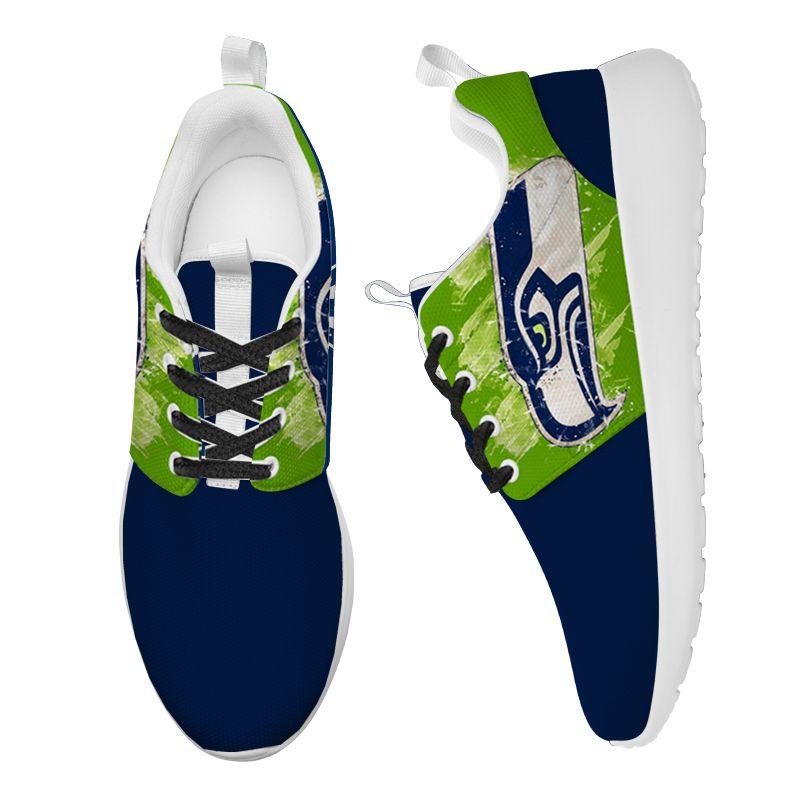 Seahawks Shoes Yeezy Running Sneaker for Women and Men