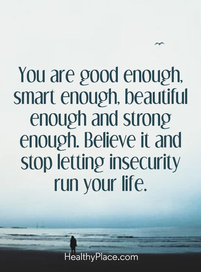 Positive Quote You Are Good Enough