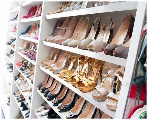 Organizacja Dobrze Zorganizowana Shoe Closet Wardrobe Closet Closet Inspiration
