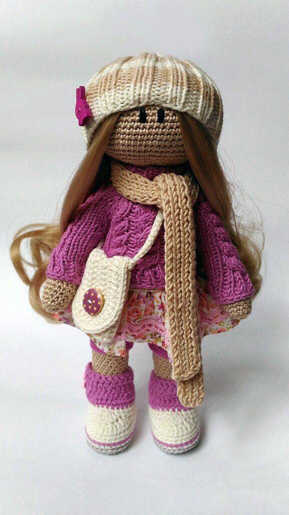 куклы крючком амигуруми мастер классы Vk Panenky куклы
