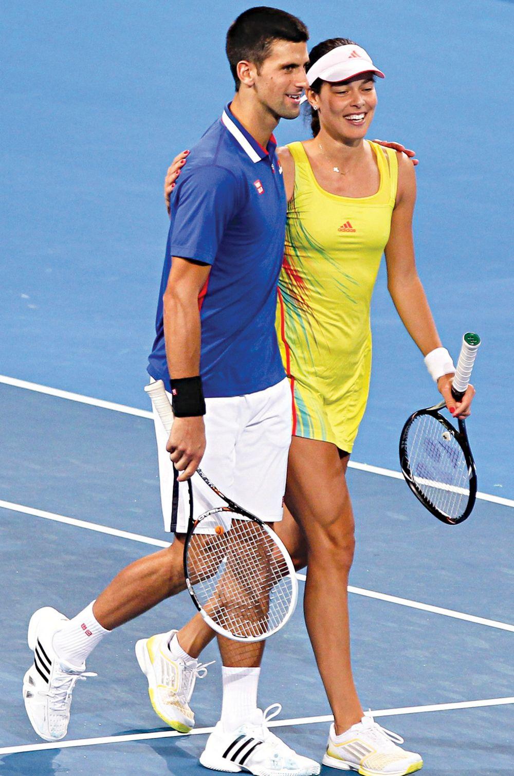Ana I Nole Tandem Za Zlato U Riju Ana Ivanovic Tennis Ana Ivanovic Novak Djokovic