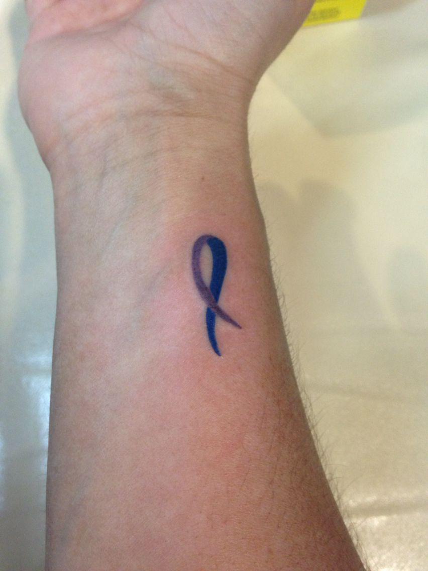 25cb2c5bb Wanted a tattoo that represents what I deal with daily....RA ...