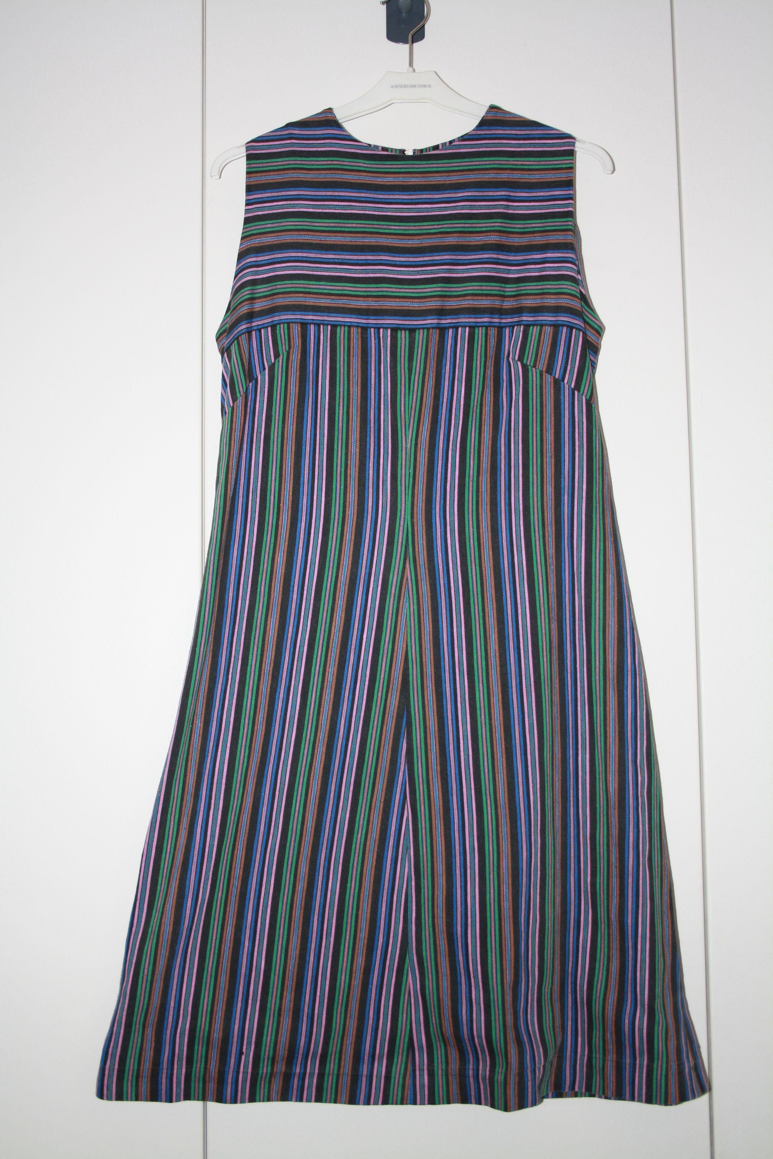 Klänning i bomull 60-tal