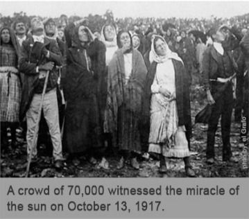 The Sixth and Last Apparition of Our Lady - October 13, 1917   ANF Articles   Lady of fatima, Blessed mother mary, Miracles