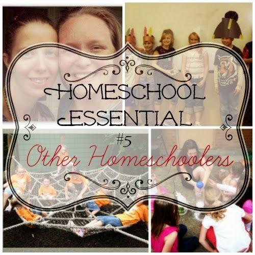 5 Days Homeschooling Essentials: Homeschoolers need Homeschoolers #5daysofhomeschoolingessentials #homeschooling #homeschool