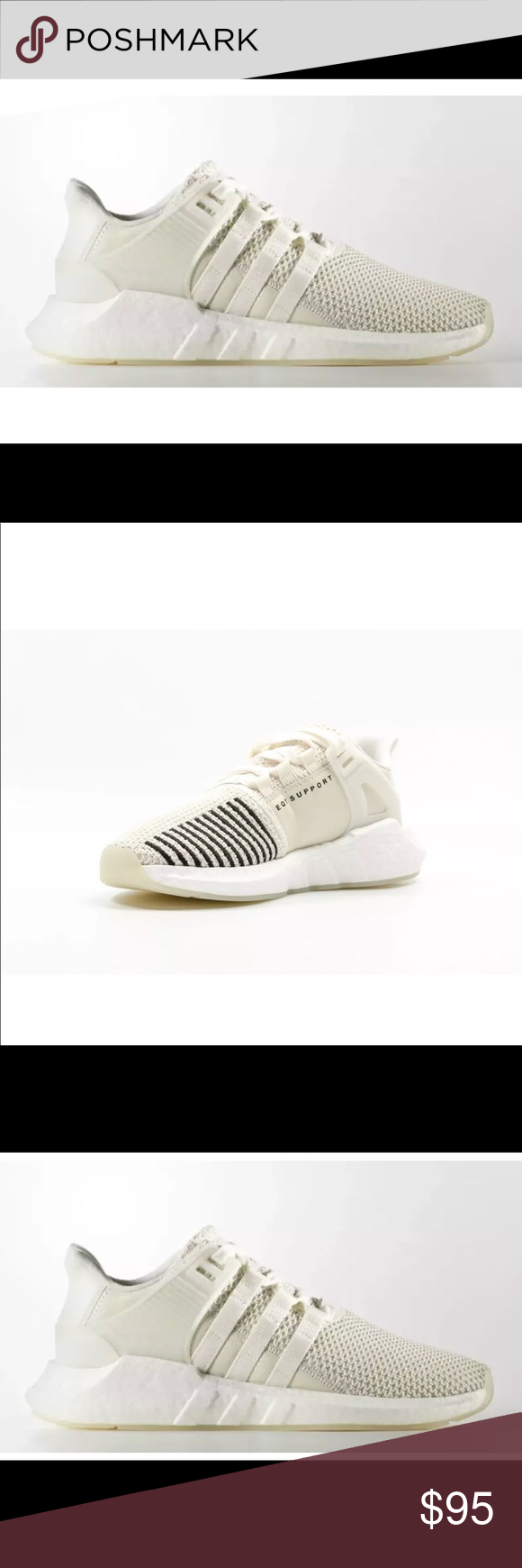 Adidas EQT Support SZ 8 crema NWT mi elegante armario Pinterest