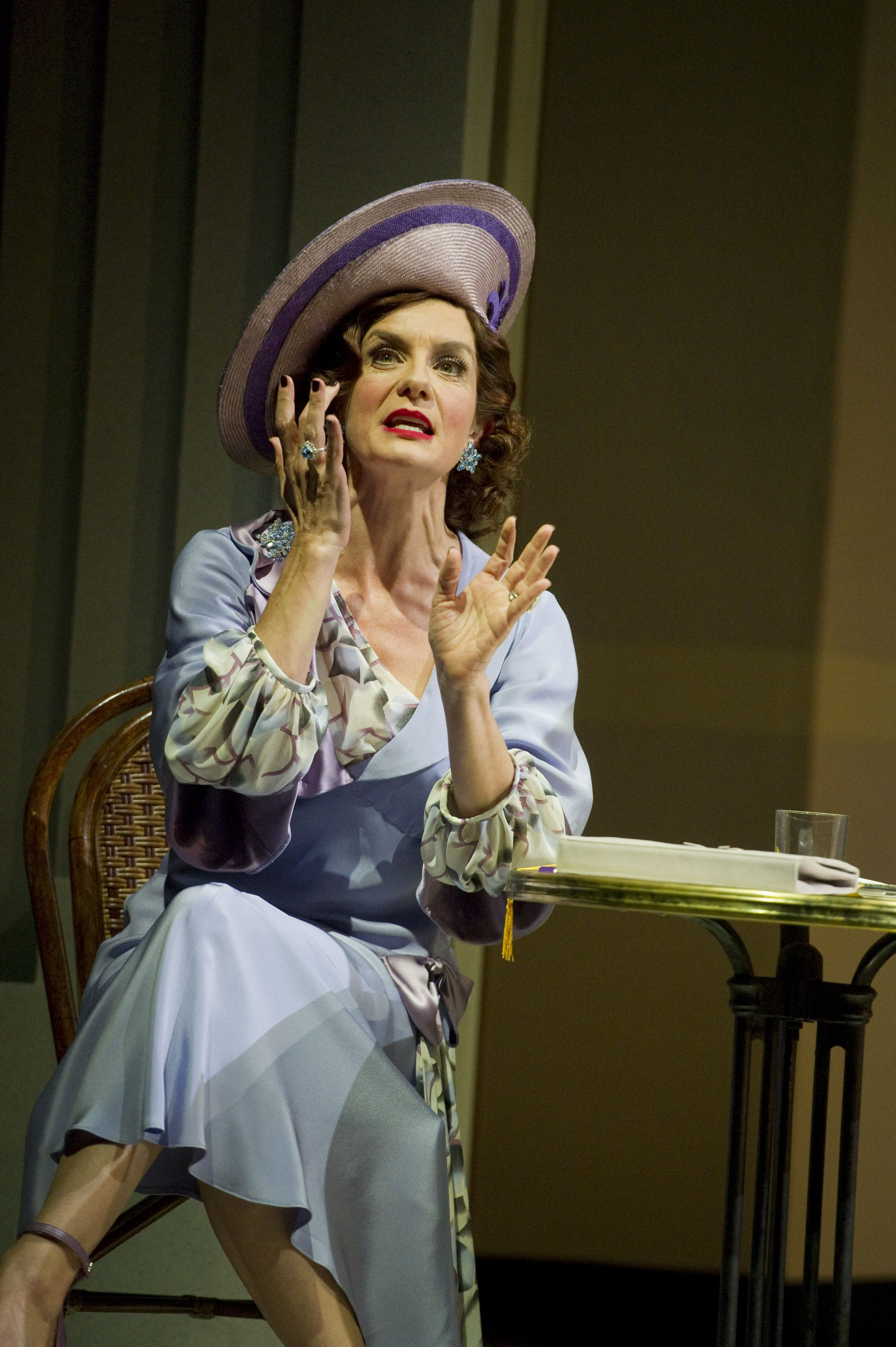 Vivien Parry as Madge Hardwick Fashion, Top hat, Tops