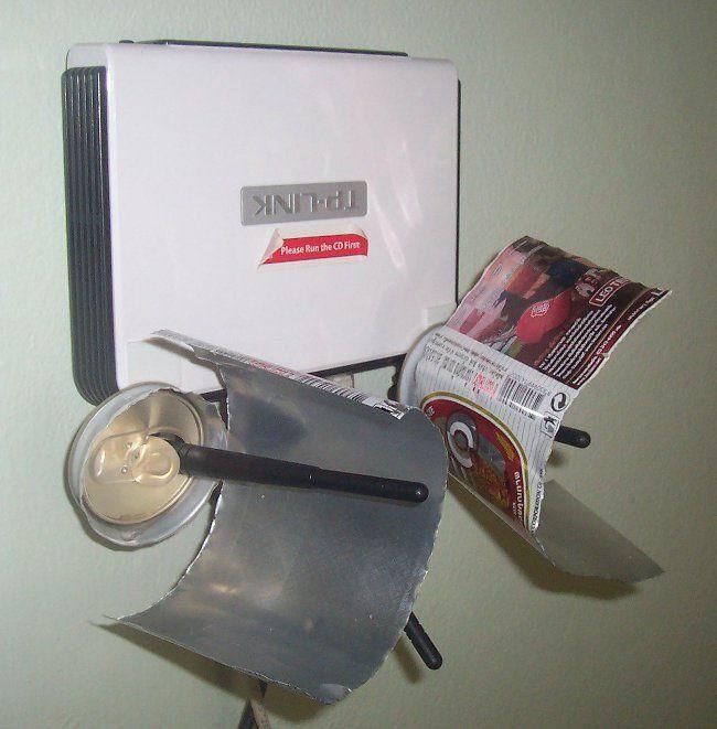 Como Mejorar Tu Senal Wifi Con Unas Latas De Aluminio Latas De