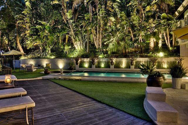 Quero que minha casa tem um jardim assim
