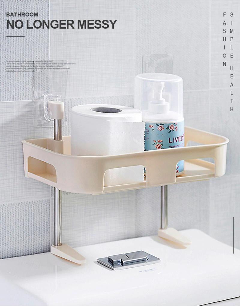 1 2 3 Layer Plastic Bathroom Shelf Toilet Washroom Organizer Decor Interior Inc Washroom Organization Shower Shelves Bathroom Shelves [ 1017 x 800 Pixel ]