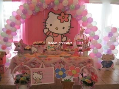 Bohra Gourmet do it the Bohra way Hello Kitty Birthday Party Theme