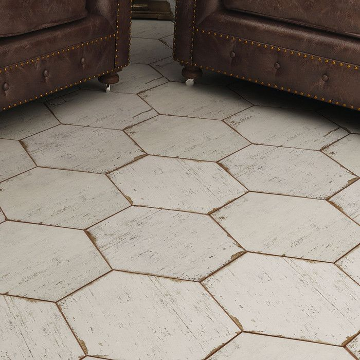 "Rama 14.13"" X 16.25"" Porcelain Field Tile In 2019"