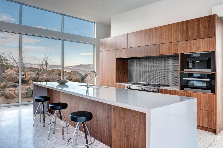 Interior of Palm Springs Chino Canyon home by Lance O\'Donnell of o2 ...