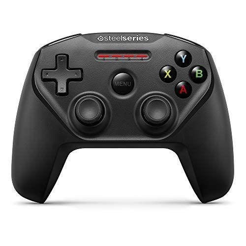 SteelSeries Nimbus Bluetooth Mobile Gaming Controller - Iphone, iPad, Apple TV - 40+ Hour Battery Li best home accessories Offers  from apple