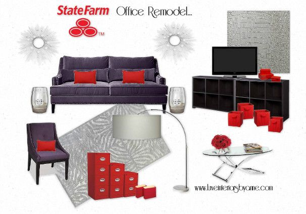 State Farm Office Remodel My Mood Boards Pinterest